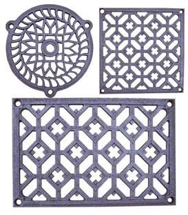 Grilles décoratives de ventilation