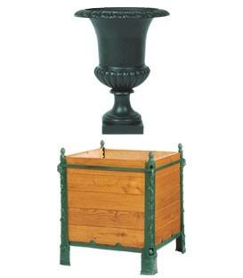 Coupes - Vases Medicis - Bac à oranger - Cuvier - Statue